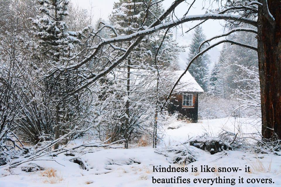 winter kindness